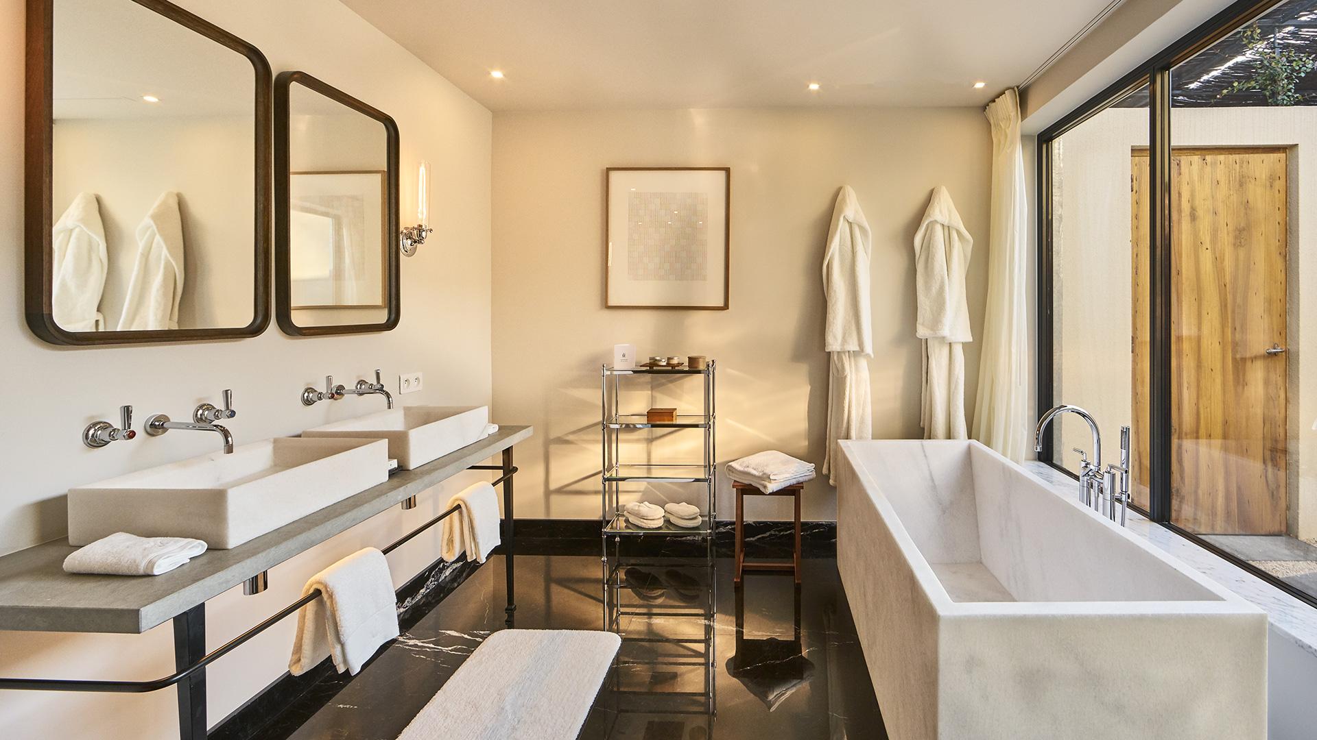 salle de bain en Provence